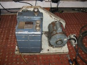 Welch Vacuum Duo Seal Pump 1376 5hp Ph1 Dayton 115 230v Motor Usa