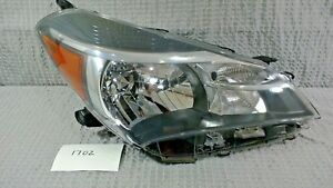 2015 2016 2017 Toyota Yaris Hatchback Halogen Right Oem Headlight