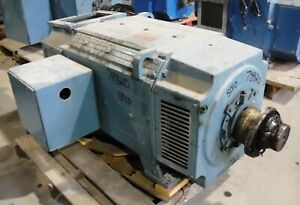 75 Hp Dc Reliance Electric Motor 300 Rpm B5010atz Frame Dpfv 500 V