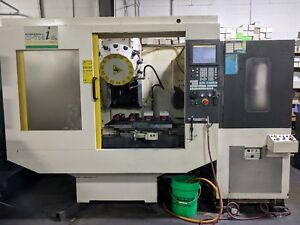 Fanuc Robodrill t14ib With Pallet Shuttle Cnc Mill Machining Center