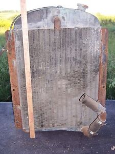 1941 Gm Chevy Pickup Truck L6 6 Cylinder Oem Radiator Parts Repair Ir