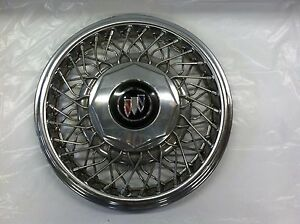Vintage 1989 93 Buick Wire Spoke 15 Hubcap Lesabre Park Avenue Regal Gc