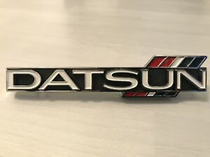 Datsun Nissan New Grille Emblem Badge For 510 Bluebird Sss