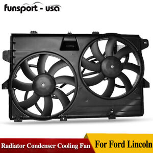 Radiator Cooling Fan For 07 14 Ford Edge 07 15 Lincoln Mkx W Control Module