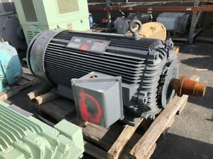 300 Hp Reliance Electric Motor 1200 Rpm 5012y Frame Tefc 2300 V 1 15 S f
