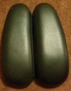 Herman Miller Aeron Part One Set Of Used Leather Arm Pads Lot 3