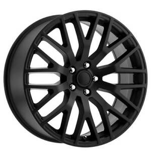 4rims 19 Ford Mustang Performance Wheels Satin Black Oem Replica Fs