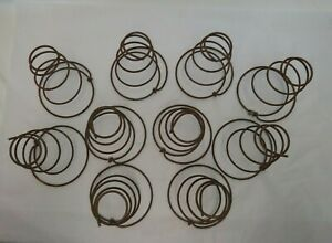 Lot Of 10 Vintage Fat Rusty Tornado Shape Bed Springs Farm Arts Crafts Shabby