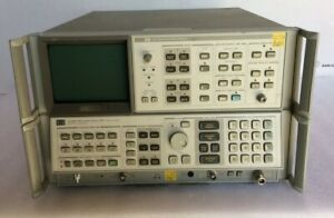 Hp 8568b Spectrum Analyzer 100hz 1 5ghz W display