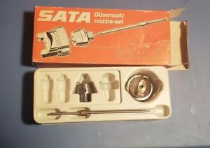 Sata Jet K Nr Nozzle Set 73916 Older Model Spray Gun Never Used