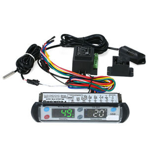 Youkong Digital Temperature And Humidity Recording Controller 220v Reptile A3l8