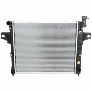 Radiator For 2001 03 Jeep Grand Cherokee Laredo Limited Overland Sport 4 7l 8cyl