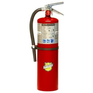 Buckeye 11340 Abc Multipurpose Dry Chemical Fire Extinguisher Tagged
