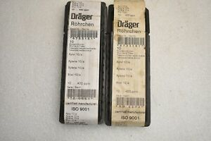 Lot Of 13 Drager Rohrchen 6733161 Tubes Xylene 10 a 10 400ppm 800 33161