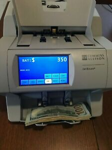 Cummins Jet Scan 4062es Currency Note Bill Cash Counter like New