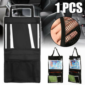 Kids Car Seat Back Hanging Storage Phone Tablet Holder Organizer Bag For Ipad