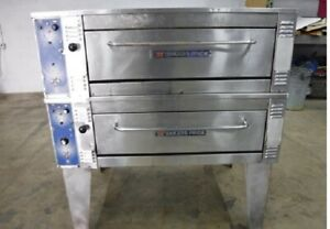 Bakers Pride 55 Electric Double Deck Oven Eb8 3836 With Stone