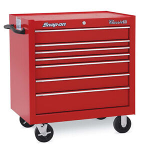 Brand New Snap On Kra2407pbo Classic Series Roll Cab Red free Shipping