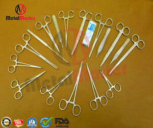 Canine Spay Pack Veterinary Tools Surgical Instruments Set Of 65 Pieces