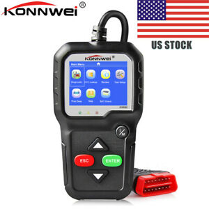 Odb2 Konnwei Kw680 Car Diagnostic Tool Obd2 Auto Scanner Engine Check Us Stock