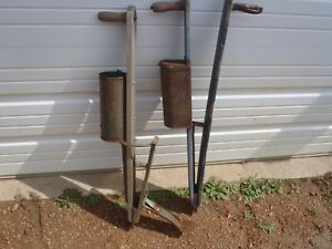 Vintage Corn Planter Lawn And Garden Tools Antique Hand Tools
