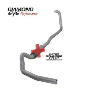 Diamond Eye K4332a rp Turbo back Exhaust System 00 03 Ford Excursion 7 3l Diesel
