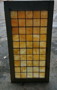 Extra Large Antique Stained Glass Church Window Nyc Area