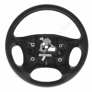 New Gm Oem Blemished Leather Steering Wheel 1997 1999 Oldsmobile Silhouette Apv