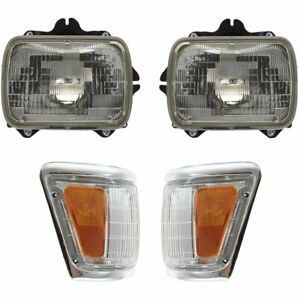 Right Left Side New Auto Light Kit For Truck Lh Rh Toyota Pickup 1992 1995