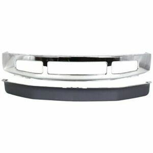 Fo1002406 Fo1093116 Front New Kit Bumper Face Bar For Truck Chrome Ford 08 10