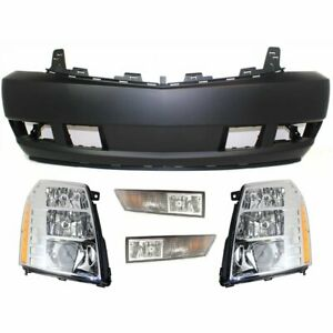 Front New Kit Auto Body Repair For Cadillac Escalade Esv Ext 2009 2013