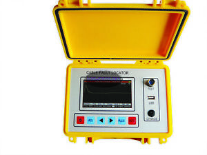 New St620 Tdr Cable Fault Locator Tester Meter Pulse Reflection Bridge Test In