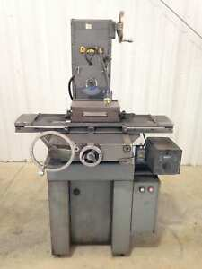 Doall Dh 612 6 X 12 Surface Grinder 1hp 3150rpm 220v 3ph