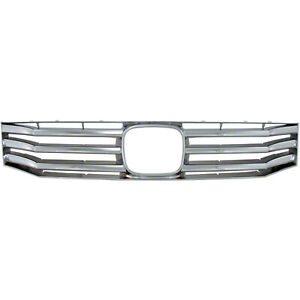 New Chrome Grill Grille Overlay Insert For 2008 2010 Honda Accord 4 Door Sedan