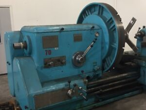 Koping Engine Lathe 54 Face Plate Gap Bed