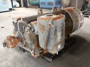 500 Hp Toshiba Electric Motor 1200 Rpm 5811us Frame Tefc 4000 V