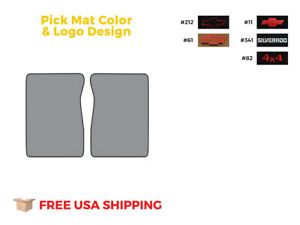 Fits 1975 1986 Chevrolet C10 Floor Mat 2pc Cutpile