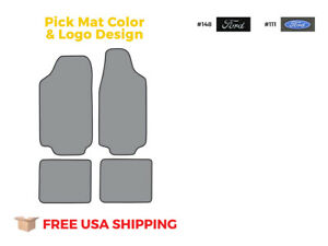 Fits 1974 1980 Ford Pinto Floor Mat 4pc Cutpile