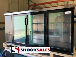 Dukers Dbb72 h3 72 Refrigerated Back Bar Cooler With Hinged Door