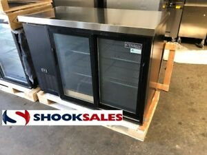 Dukers Dbb48 s2 48 Refrigerated Back Bar Cooler With Slide Door Great Warranty
