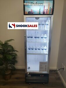 Dukers Dsm 12r 25 inch Glass Door Refrigeration Merchandiser