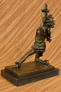 100 Bronze Hawaiian Hula Dancer Tiki Girl Nude Sculpture Statue Art Decor Beach