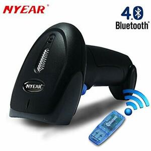 Handheld Wireless Wired Two In One Bluetooth 4 0 amp Usb Barcode Scanner 1d