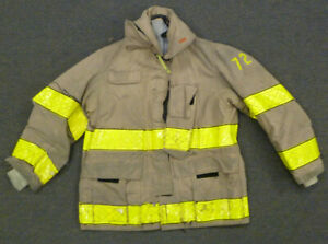 36x29 Firefighter Jacket Coat Bunker Turn Out Gear Globe J698