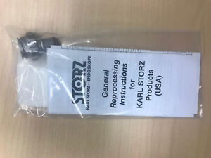 27050lc Karl Storz Adaptor For Use Of Bladder Syringes W outer Sheath 27050sc