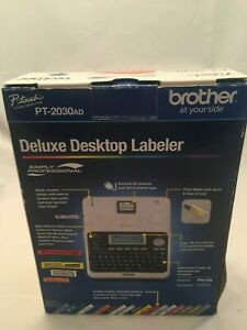 Brother P touch Pt2030 Ad Deluxe Desktop Labeler With Ac Adapter