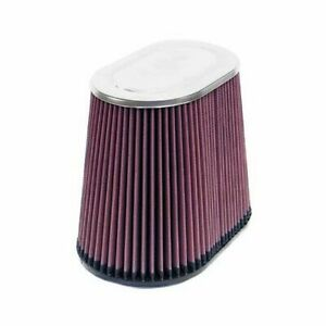 K N Air Filter Filtercharger Oval Tapered Cotton Gauze Red 4 Dia Inlet Rf 1034