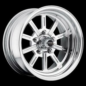 Center Line Competition Super Spoke 15x8 5x5 Alum 2pc Ea Wheel 749 5803550