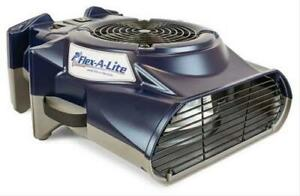 Flex A Lite Cfm1000 Air Blower Airmover 900 Cfm 2 Amps Each