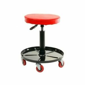 Summit 918020 Creeper Seat Adjustable 15 19 Inch 5 Casters Each